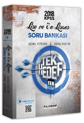 2018 KPSS Lise ve Önlisans Video Destekli Tek Hedef Soru Bankası