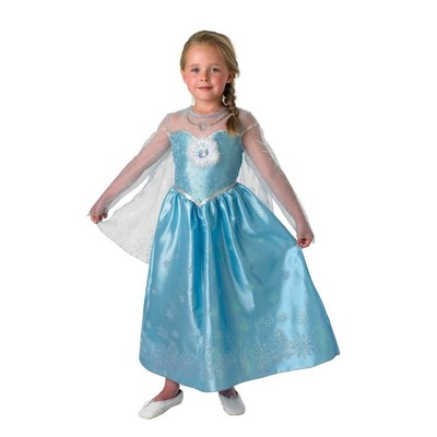 Rubies Kostüm Elsa Deluxe 7-8 Yaş