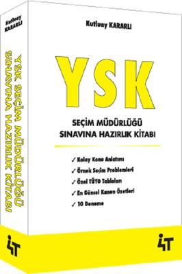 YSK Seçim Müdürlüğü Sınavına Hazırlık Kitabı