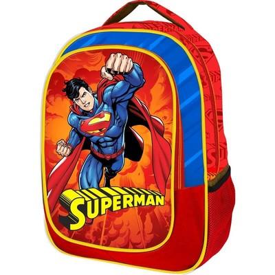 Superman İlkokul Çantası Tek Gözlü