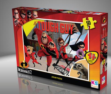 Ks Games 50 Parça Puzzle Incredibles