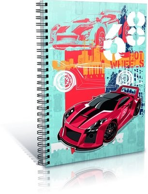 Gıpta Hot Wheels Defter Karton Kapak A6