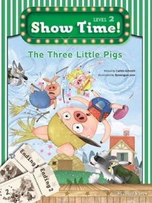 Show Time Level 2-The Three Little Pigs-Workbook