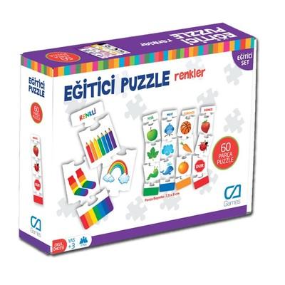 Ca Games 5029 Renkler 60 Parça Puzzle