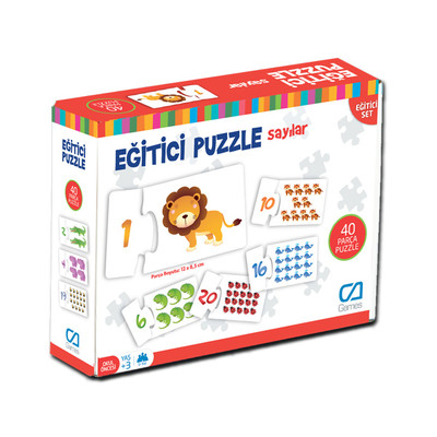 Ca Games 5031 Sayılar 40 Parça Puzzle