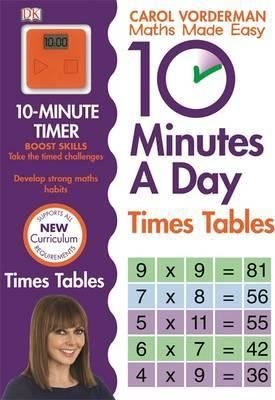 10 Minutes A Day Times Table (Made Easy Workbooks)