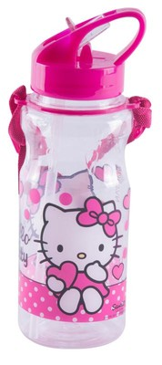 Hello Kitty 78693 Şeffaf Matara - 500 Ml
