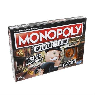 Hasbro Monopoly E1871 Cheaters Edition Kutu Oyunu