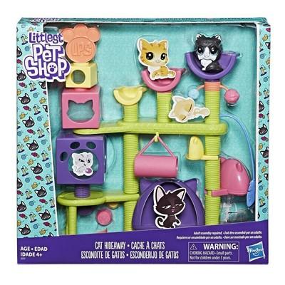 Littlest Pet Shop Kedi Miniş Eğlence Parkı (E2127)