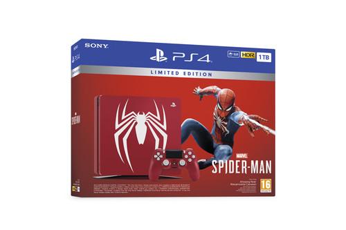 Sony Playstation 4 1TB Marvel's SpiderMan Tema+Oyun