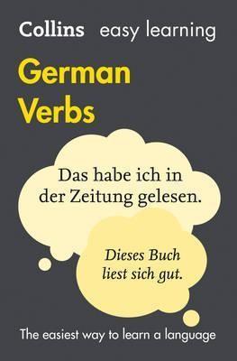 Easy Learning German Verbs (Collins Easy Learning German)