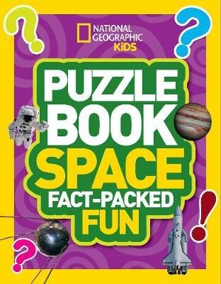 Puzzle Book Space: Brain-tickling quizzes, sudokus, crosswords and wordsearches (National Geographic