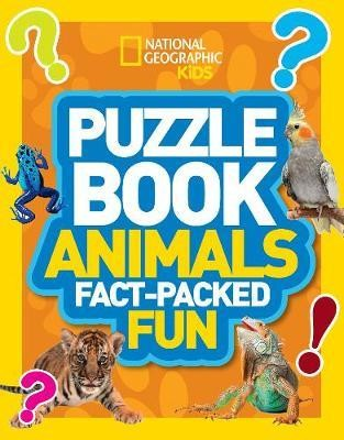 Puzzle Book Animals: Brain-tickling quizzes, sudokus, crosswords and wordsearches (National Geograph