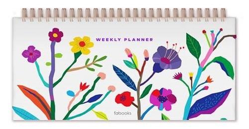 Fabooks Haftalık Masaüstü Planlayıcı Beyaz