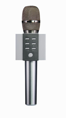 Doppler Platinum Karaoke Mikrofonu (Silver)