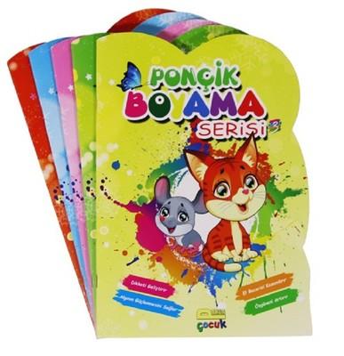 Ponçik Boyama Seti-5 Kitap Takım