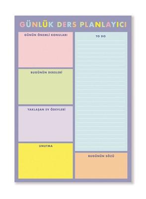 Fabooks Bloknot Günlük Ders Planlayıcı