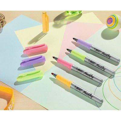 Bic Marking Color 6'Lı Blister Pastel Renkler