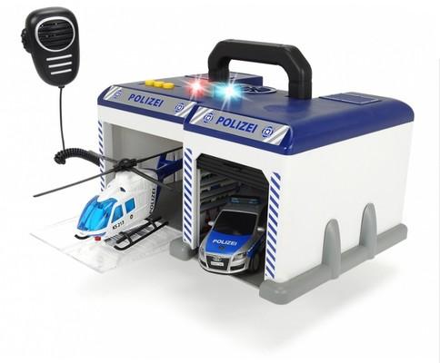 Dickie-Polis İstasyonu Sesli Işıklı Taşıma Çantalı