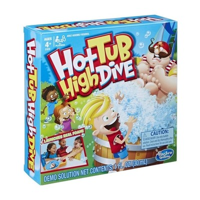 Hot Tub High Dive Kutu Oyunu E1919