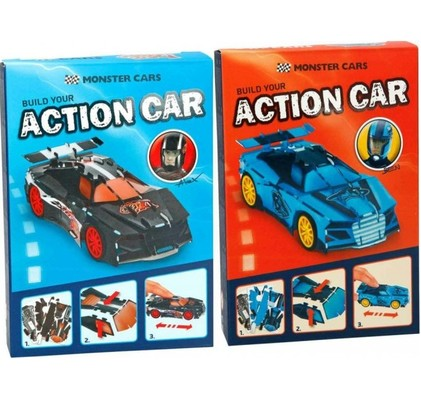 Monster Cars Yapboz Araba 6357