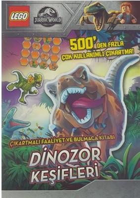 Lego Jurassic World-Dinozor Keşifleri-Çıkartmalı Faaliyet ve Bulmaca Kitabı