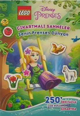 Lego Disney Prenses-Çıkartmalı Sahneler Senin Prenses Dünyan