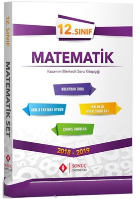 12.Sınıf Matematik Kazanım Merkezli Soru Bankası Seti