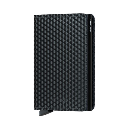 Secrid Slimwallet Cubic Black Black