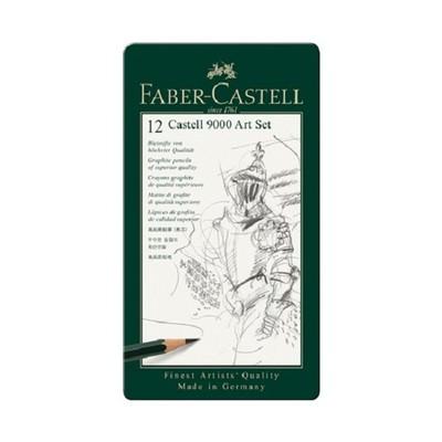 Faber Castell 9000 Dereceli Kalem Art Set (8B-2H) 144