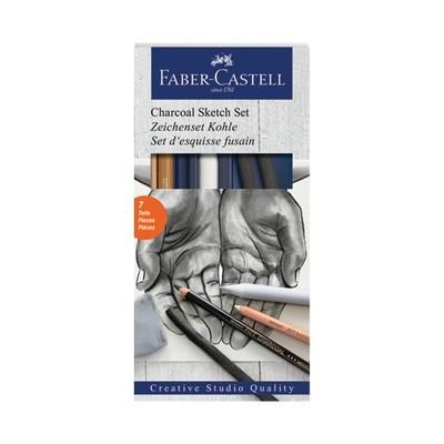 Faber Castell Charcoal Sketch Set Kömür Eskiz Seti