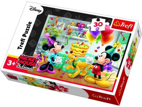 Trefl-Puz.30 Mickey&Minnie Doğ.Günü Partisi 18211