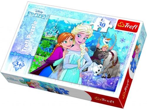 Trefl 18225 Frozen 30 Parça Puzzle