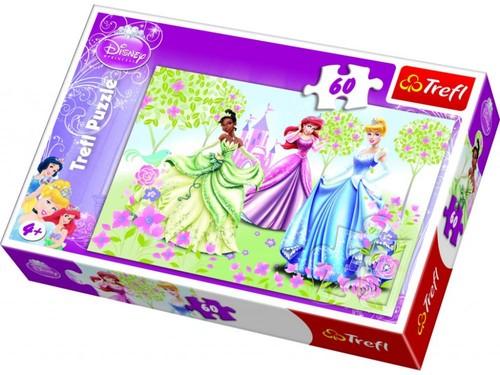 Trefl-Puz.60 Disney Prensesler Bahçede 17191
