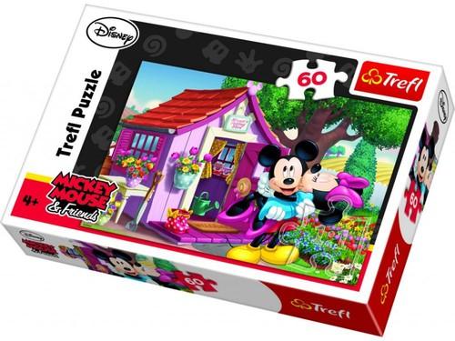 Trefl-Puz.60 Mickey&Minnie Bahçesi 17285