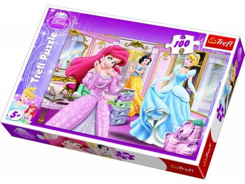 Trefl-Puz.100 Disney Prensesler Baloda 16186