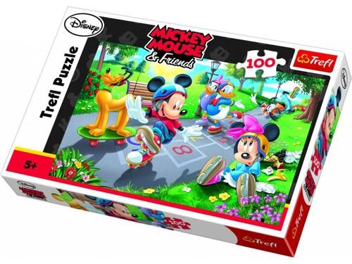 Trefl-Puz.100 Mickey Mouse Yarışıyor 16249