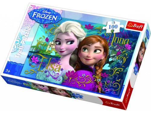 Trefl-Puz.100 Anna ve Elsa 16255