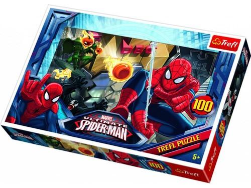 Trefl-Puz.100 Örümcek Adam Kaçış 16259