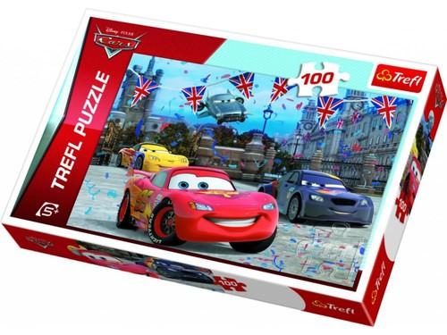 Trefl-Puz.100 Cars London da Yarışıyor 16295