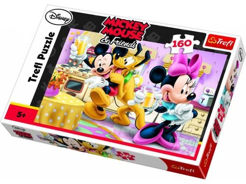 Trefl-Puz.160 Mickey&Minnie Mutlu Gün 15237