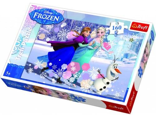 Trefl-Puz.160 Frozen Buzun Üstünde 15317