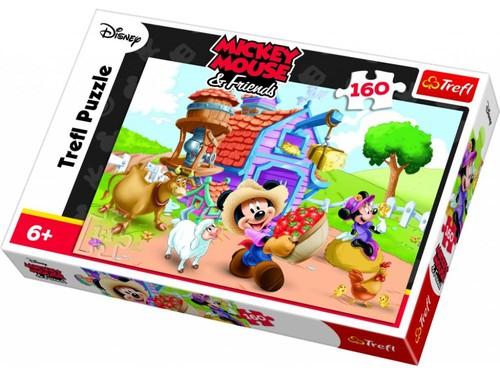 Trefl 15337 Mickey Mouse Çifti 160 Parça Puzzle