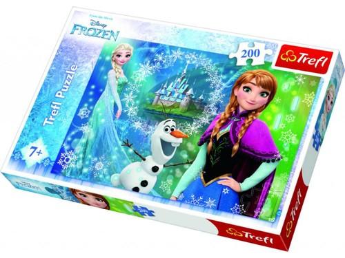 Trefl-Puz.200 Frozen Kız Kardeşler 13207