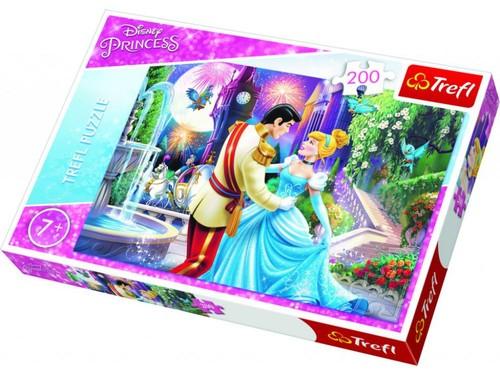 Trefl-Puz.200 Disney Prensesler Ay Işığında Dans 13224