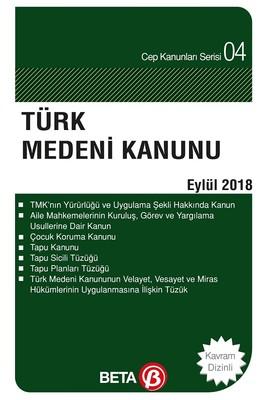 Türk Medeni Kanunu-Eylül 2018