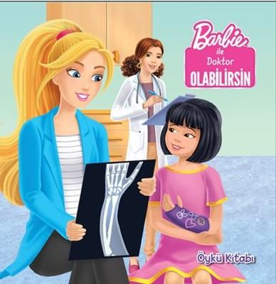 Barbie ile Doktor Olabilirsin-Öykü Kitabı