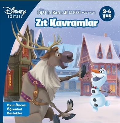Disney Eğitsel-Olafın Karlar Ülkesi Macerası Zıt Kavramlar