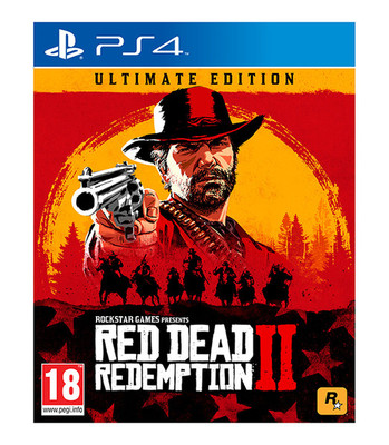 Red Dead Redemption 2 Ultimate Edt, PS4