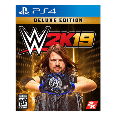 WWE 2K19 Deluxe Edition ,PS4